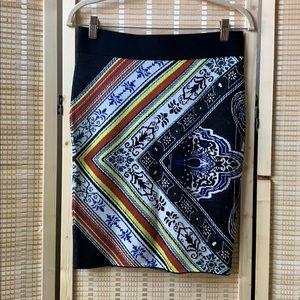 RACHEL Rachel Roy jacquard knit pencil skirt